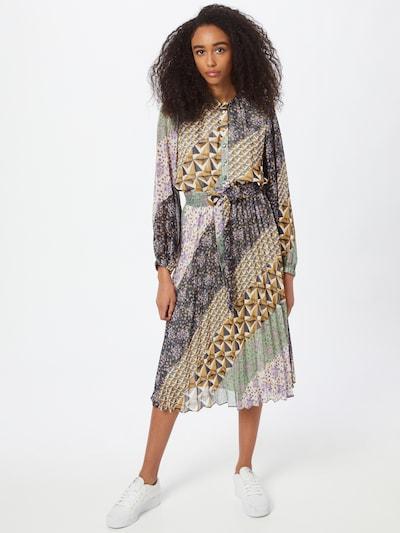 Rochie tip bluză Suncoo pe culori mixte, Vizualizare model
