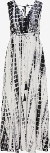 IZIA Kleid in grau / schwarz / weiß, Produktansicht