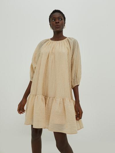 EDITED Kleid 'Paola' in beige, Modelansicht