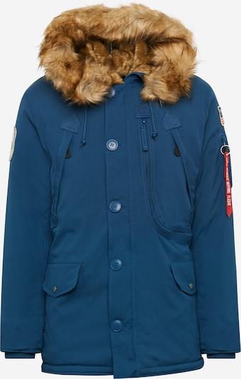 ALPHA INDUSTRIES Winterparka 'Polar' in de kleur Donkerblauw, Productweergave