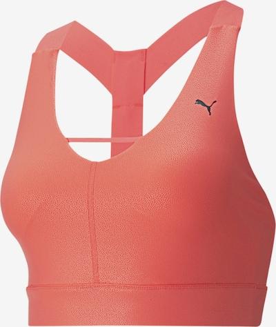 PUMA Mid Impact Pearl Damen Sport-BH in orange, Produktansicht