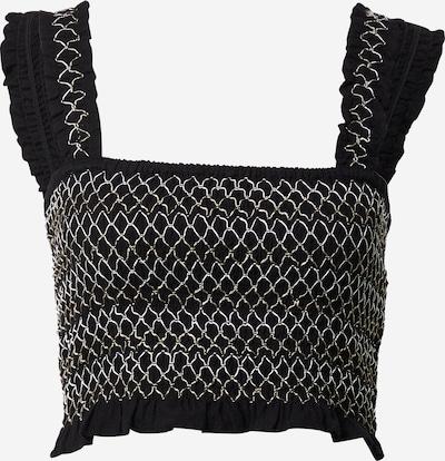 Cotton On Overdel 'Cami' i sort / hvid, Produktvisning
