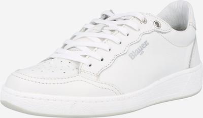 Blauer.USA Låg sneaker 'OLYMPIA' i vit, Produktvy