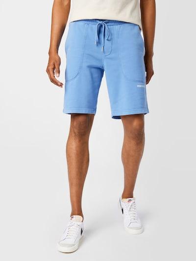 DRYKORN Pantalon 'BREAK' en bleu / blanc, Vue avec modèle