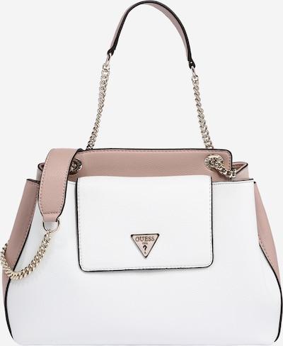 GUESS Shoulder bag 'Sandrine' in pink / white, Item view