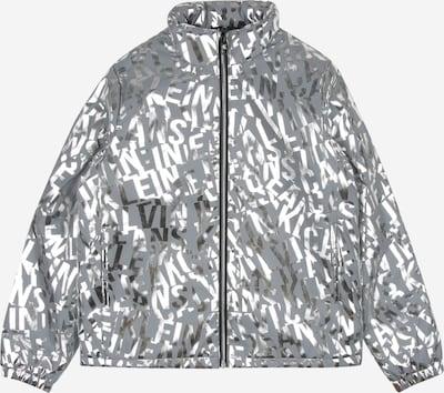 Calvin Klein Veste mi-saison en gris clair / argent, Vue avec produit