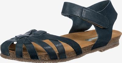Greenova Sandalen in dunkelblau, Produktansicht
