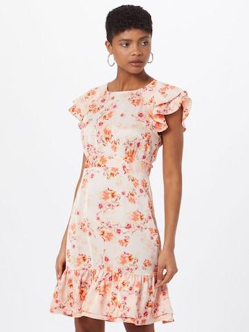 VERO MODA Letné šaty 'JOANNA' - ružová