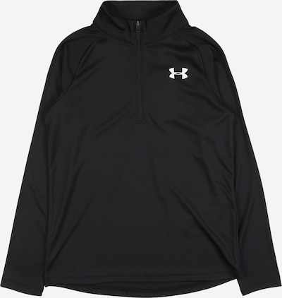 UNDER ARMOUR Sport-Sweatshirt in schwarz, Produktansicht