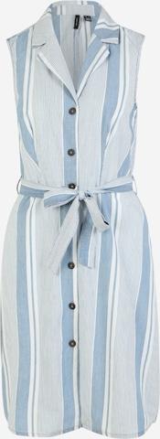 Vero Moda Tall Sukienka koszulowa 'Akelasandy' w kolorze niebieski