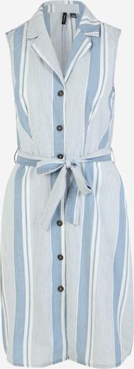 Vero Moda Tall Blūžkleita 'Akelasandy', krāsa - dūmu zils / gandrīz balts, Preces skats