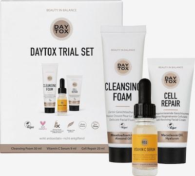 DAYTOX Pflegeset 'Skin Detox Trial Set' in weiß, Produktansicht