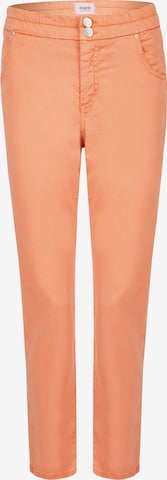 Angels Hose 'Louisa Button' in Orange
