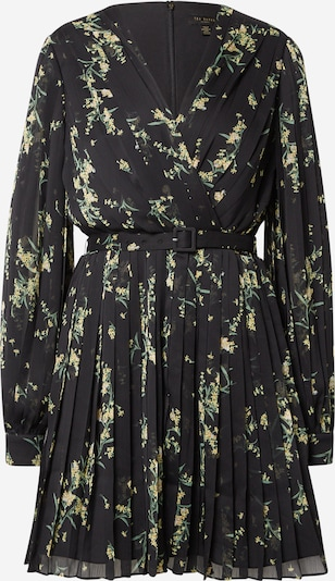 Ted Baker Cocktail dress 'Izziiy' in Yellow / Light green / Black, Item view