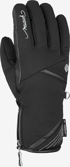 REUSCH Fingerhandschuh 'Lore STORMBLOXX™' in schwarz / silber, Produktansicht