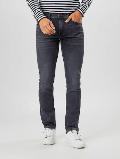 Jeans 'LAYTON' TOMMY HILFIGER di colore nero denim: Vista frontale