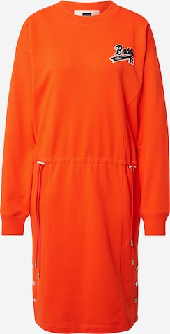BOSS Dress 'C_Eyona_Russell Athletics' in Orange