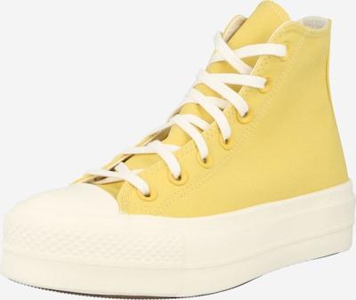 Sneaker înalt 'CTAS LIFT HI' CONVERSE pe galben / alb, Vizualizare produs