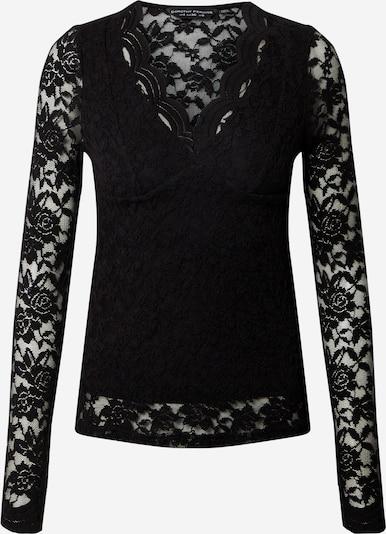 Dorothy Perkins T-shirt 'Scallop' i svart, Produktvy