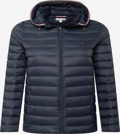 Tommy Hilfiger Curve Tussenjas in de kleur Donkerblauw / Rood / Wit, Productweergave