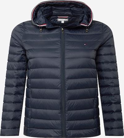 Tommy Hilfiger Curve Jacke in dunkelblau / rot / weiß, Produktansicht