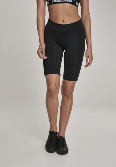 Urban Classics Leggings en noir, Vue avec modèle