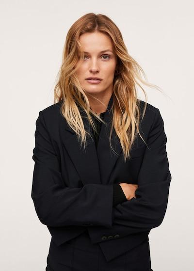 MANGO Blazer 'Emily' in navy, Modelansicht