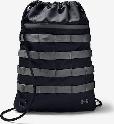 UNDER ARMOUR Turnbeutel in grau / schwarz, Produktansicht
