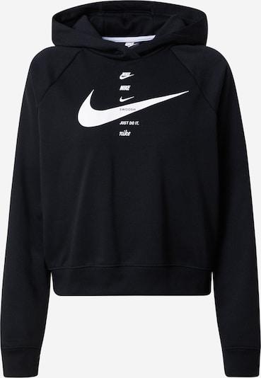 Nike Sportswear Sweatshirt 'Swoosh' in schwarz / weiß, Produktansicht