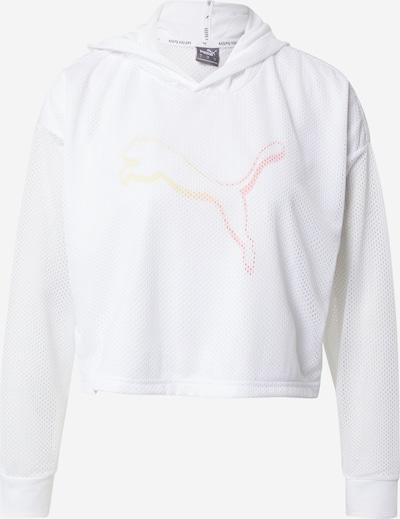 PUMA Camiseta funcional en salmón / naranja claro / blanco, Vista del producto