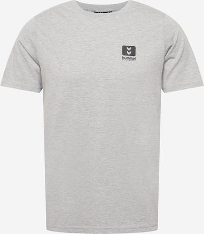Hummel Sportshirt in graumeliert / schwarz, Produktansicht