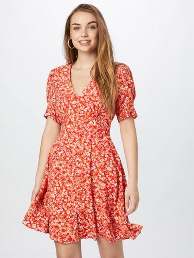 Rochie tip bluză 'Saffron' Forever New pe mai multe culori / roșu orange, Vizualizare model