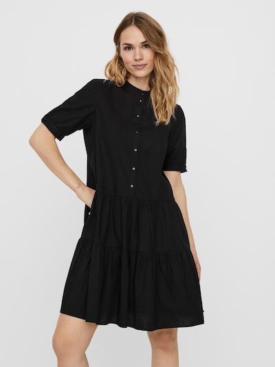 VERO MODA Košulja haljina 'Delta' u crna, Prikaz modela
