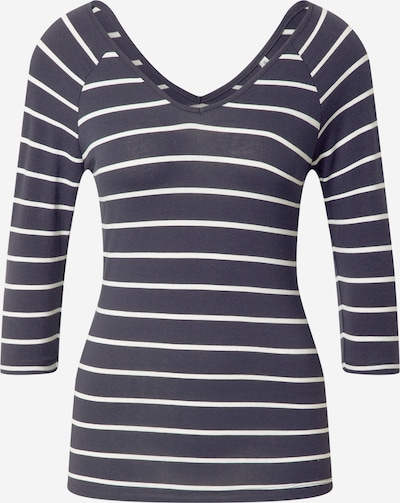ONLY Shirt 'FIFI ' in Night blue / White: Frontal view