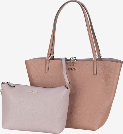 GUESS Shopper 'ALBY' in light brown / pastel purple, Item view