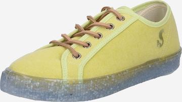 thies - Zapatillas deportivas bajas en amarillo