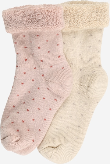 mp Denmark Socks 'Carly' in light beige / pink, Item view