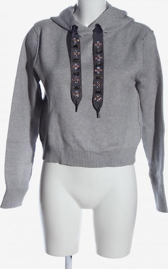 ZARA Kapuzensweatshirt in S in hellgrau, Produktansicht