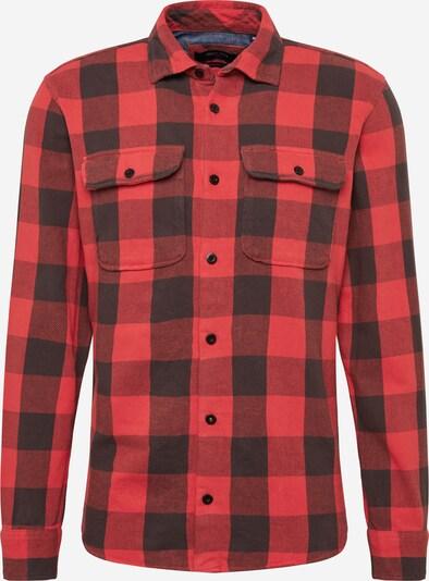 JACK & JONES Hemd in rot / schwarz, Produktansicht