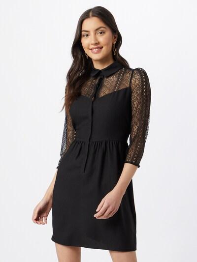 NAF NAF Košilové šaty - černá, Model/ka
