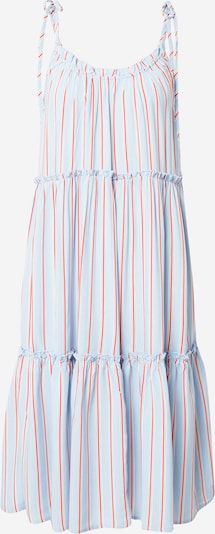Freequent Kleid in hellblau / rot / weiß, Produktansicht
