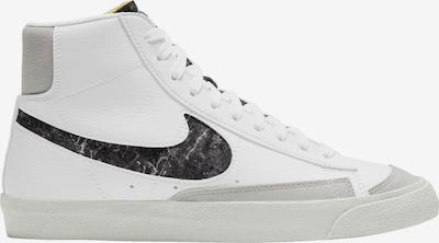 Nike Sportswear Високи сникърси в сиво / бяло, Преглед на продукта