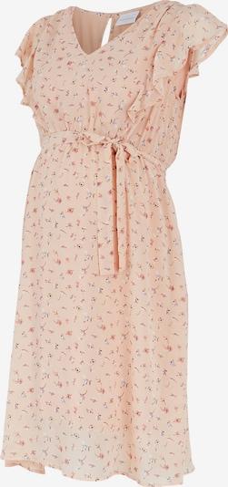 MAMALICIOUS Šaty 'Rebeca' - broskyňová / biela, Produkt