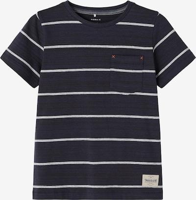 NAME IT Tričko 'Lasarus' - námornícka modrá / sivá melírovaná / čierna, Produkt