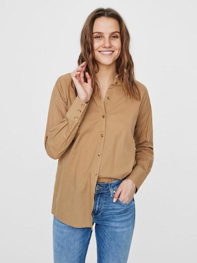 Vero Moda Aware Hemd in braun, Modelansicht