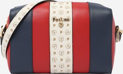 POLLINI Taška přes rameno - krémová / námořnická modř / zlatá / červená, Produkt