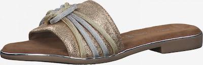 MARCO TOZZI Pantofle - zlatá / růžově zlatá / stříbrná, Produkt