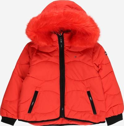 Žieminė striukė iš TOMMY HILFIGER, spalva – šviesiai raudona / juoda, Prekių apžvalga