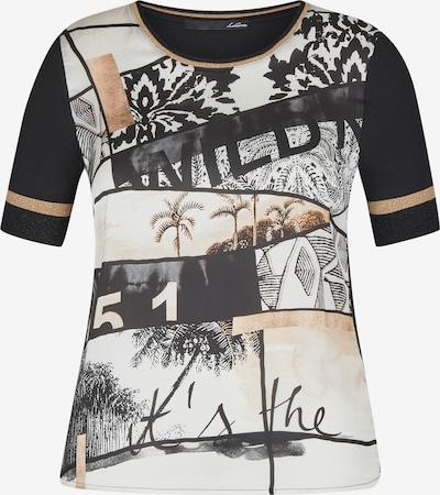 Lecomte T-Shirt in gold / schwarz / weiß, Produktansicht