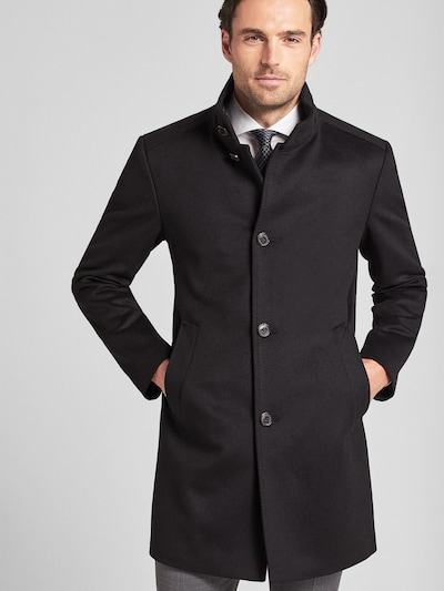 JOOP! Mantel ' Maron ' in schwarz, Modelansicht